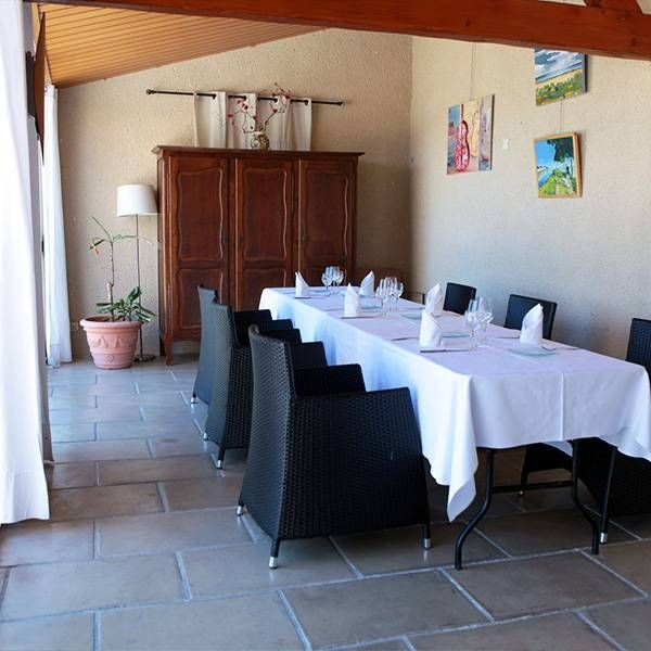 Repas de groupe - Mas de Baumes - Restaurant Ferrières-les-Verreries